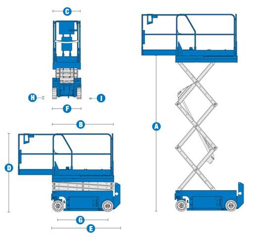 genie scissor lift battery diagram forklift battery