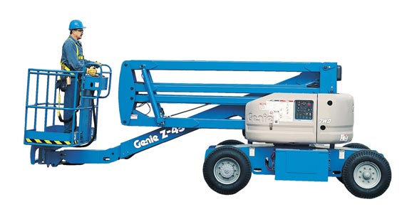 articulating boom | blulift z45