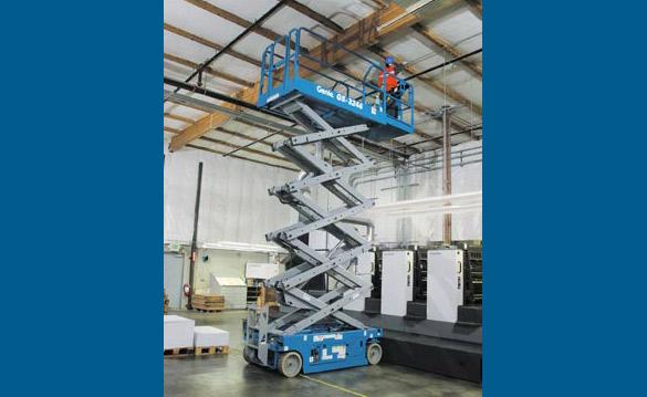 Blulift | Electric Scissor lift elevated platform GS-3246