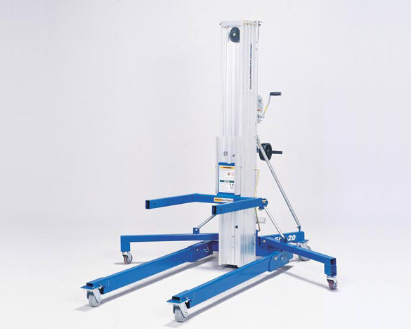 Blulift | Telescopic Mast Forklift Blulift Superlift Advantage