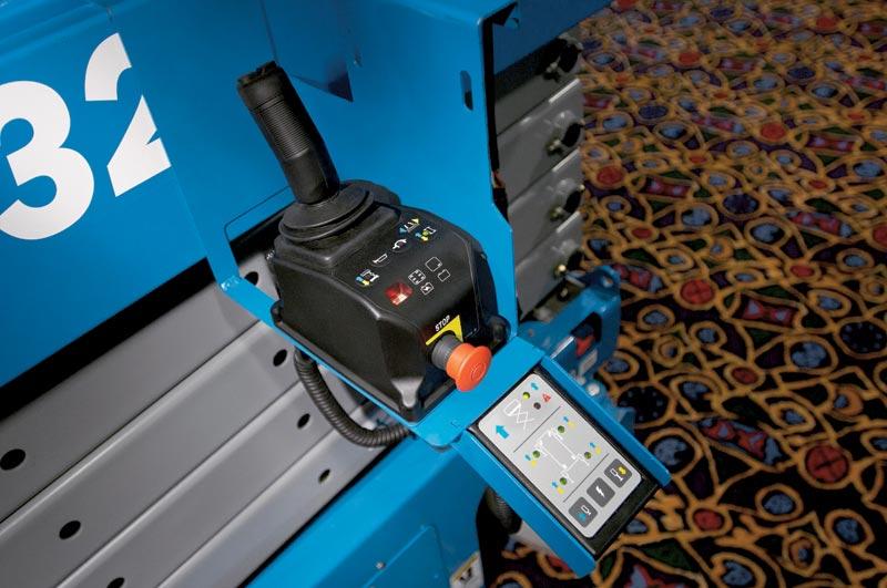 Blulift | Electric Scissor lift elevated platform GS-3232 Genielift