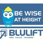 Bluelift Be Wise at Height symbol